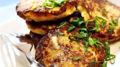 Tonnikala-perunapihvit - Yhteishyvä Home Bakery, Burger Recipes, Salmon Burgers, Tapas, Seafood, Food And Drink, Healthy Recipes, Healthy Food, Fish