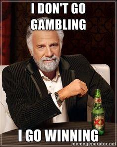 Funny Gambling Meme