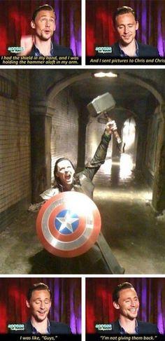 hahaha -- Love Loki. =)
