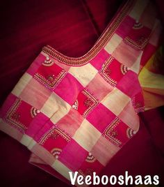 15 Fresh maggam work blouse designs of new season Pattu Saree Blouse Designs, Fancy Blouse Designs, Bridal Blouse Designs, Blouse Neck Designs, Stylish Blouse Design, Designer Blouse Patterns, Beautiful Blouses, Machine Embroidery Designs, Hand Embroidery