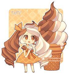 Read Chibi from the story Imagenes Anime by Silvana-Art (☆Silvana☆) with reads. Chibi Manga, Chibi Bts, Cute Anime Chibi, Manga Anime, Anime Art, Chibi Kawaii, Manga Kawaii, Kawaii Girl, Cute Food Drawings