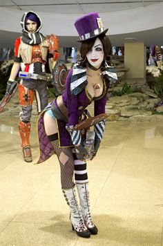 "Mad Moxxi from Borderlands 2 ""Cosplayer/Submitter: Daria Rooz [DA / WC / IN / FB] Photographer: spiderasp "" Epic Cosplay, Cute Cosplay, Amazing Cosplay, Cosplay Outfits, Cosplay Girls, Female Cosplay, Video Game Cosplay, Anime Cosplay, Borderlands Cosplay"