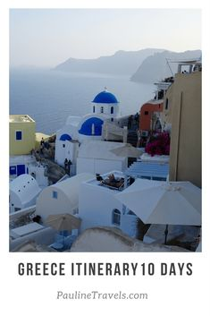 10 Days Greece Itinerary in Cyclades: Santorini, Antiparos, Paros & Athens! Kamari Santorini, Kamari Beach, Santorini Island, Santorini Travel, Best Greek Islands, Greece Islands, Greece Vacation, Greece Travel, Greece Trip
