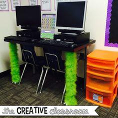 Monster Theme Classroom Reveal - The Creative Classroom Classroom Layout, Classroom Decor Themes, Classroom Posters, Classroom Design, Future Classroom, Classroom Organization, Classroom Ideas, Music Classroom, Preschool Classroom