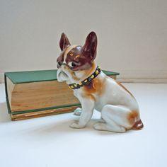 Vintage French Bulldog Figurine to benefit French Bulldog Rescue. $39,00, via Etsy.