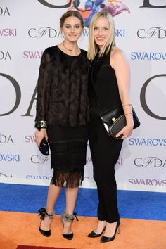 Olivia Palermo | CFDA Fashion Awards | with Lisa Axelson, designer for Ann Taylor
