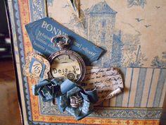 "Graphic 45 french country  mini album ""Deya Vu 2 hand made by Paola Botero"