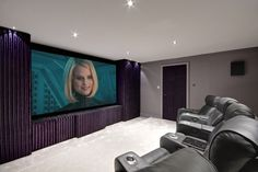 Home Cinema Garage Conversion