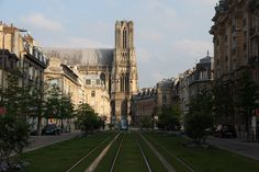Reims - France. Such a beautiful little city!