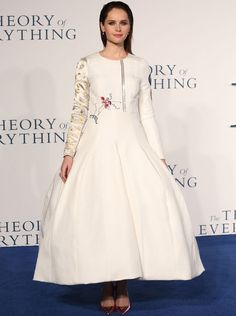 Christian Dior Alta Costura Felicity Jones