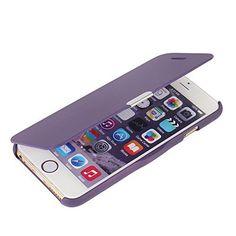 iPhone 6 Plus ケース iPhone 6s Plus ケース [MTRONX] 軽量 高品質 超薄型 超耐磨 最軽量 手帳型 マグネット式 レザーケースApple iPhone 6 Plus iPhone 6s Plus 対応 専用 アイフォン 6 Plus アイフォン 6s Plus カバー [パープルPurple](MG-PP)