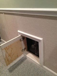 how to install an access panel in drywall | house ideas