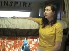▶ Living in an RV with 6 Kids Part 2: Sleeping and Bedrooms - YouTube  I don't think the set up would work for my family, however, there are several good ideas on here.