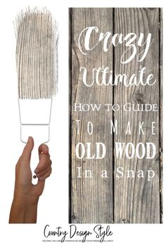A few techniques included to create more looks to your barn wood.  Using waxes both dark and white  Blurred grain or worn paint  Different type of paints with aging solution  Gray look techniques  #digitalebook #printable #agingwood #DIYBarnWood #agingwoodinstantly #chippedwhitepaint #paintingbarnwood