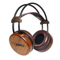 Fischer Audio Jubilate Tiama Wood HI-FI Headphones (half opened) - Fischer Audio - Brand - Top Dog Headphones