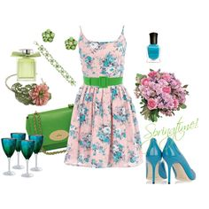 Spring has Sprung! created by meggie-lair on Polyvore