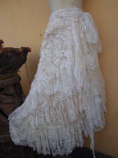 20%OFF wedding bohemian boho gypsy lagenlook OAK by wildskin