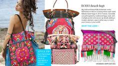 6. Boho beach bags