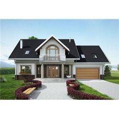Cottage House Plans, Cottage Homes, House Outside Design, Dream House Exterior, Modern House Plans, Design Case, Home Fashion, Planer, Shed