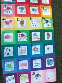 Teach Junkie: 26 Fun and Memorable End of the School Year Celebration Ideas - Class Quilt