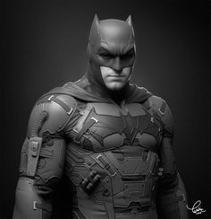 "2020 - 26 March ""Bruce Wayne"" sculpt by Yuditya Afandi. Studio/client: character, sculpture Software: Blender, Photoshop Tasks: - Modelling - Sculpting When: March 2020 Comment: Personal project I did based on Jerad Marantz early Batman Batman Vs Superman, Batman Y Robin, Batman Armor, Batman Poster, Batman Arkham Knight, Batman Christian Bale, Batman Cosplay, Ben Affleck, Armor Concept"