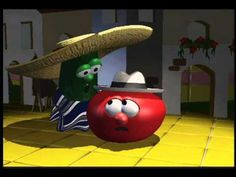 VeggieTales: Dance of the Cucumber - Silly Song I LOVE Veggie Tales for teaching children bible stories, morals, and being funny all at the same time.my child WILL be seeing lots of these! Bible Stories For Kids, Bible For Kids, Silly Songs With Larry, Veggietales, Dance Music Videos, Music And Movement, Christian Music, Swagg, Teaching Kids