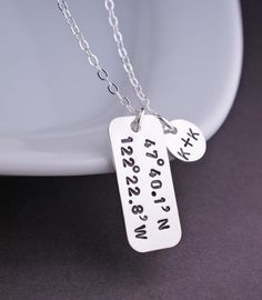 Loving this necklace. Really neat personalized gift idea.