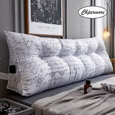 Chpermore Creative Multifunction Double pillows Simple bed cushion double Tatami Bed soft bag Removable Bed pillow For Sleeping Bed Cushions, Scatter Cushions, Sofa Pillows, Tatami Bed, Tatami Room, Bed In Corner, Corner Rack, Corner Shelf, Shelf Wall