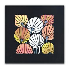 Chinese lantern from Claritystamp! Shop the full range now… Clarity Card, Barbara Gray Blog, Chinese Lanterns, Paper Cards, Watercolor Art, Cardmaking, Stencils, Projects To Try, Crafty