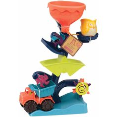 Battat B. Owl About Waterfalls Water Toy, Multicolor Kids Water Toys, Kids Sandbox, Birthday Wishes, How To Introduce Yourself, Bowser, Minions, Little Ones, Vibrant Colors, Owl