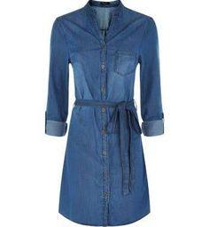 denim dress shirt - Google Search
