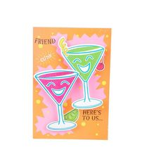 Friend Here's to Us Friend here's to us A perfect mix of style, poise and attitude. That's us! #friendshipdaycards #cardforfriends | Rs. 100 | Shop Now | https://hallmarkcards.co.in/collections/friendship-day/products/a-perfect-friend