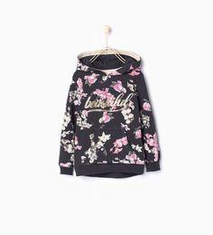 Basic sweatshirt - New this week - Girl (3 - 14 years) - COLLECTION AW15 | ZARA Turkey