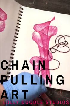 Learn how to do string art or chain pulling with this step by step tutorial