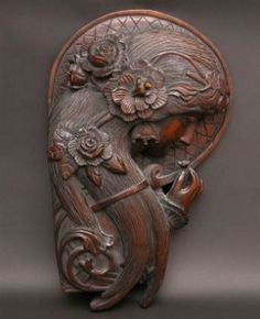 French Art Nouveau carving.