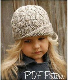 Nuevos gorros tejidos para este invierno 2015 NIÑAS ... Bordado dfc8221e8a4
