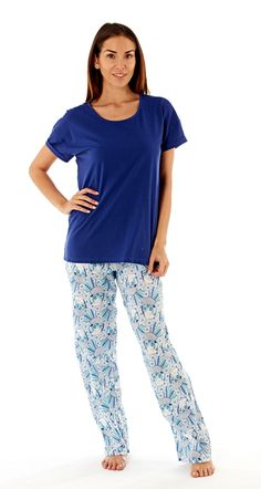 1b7f8e31de The classic long bottoms and t-shirt pyjama combo is one we all know and