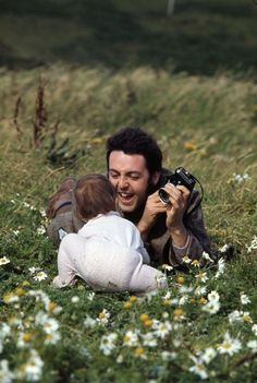 Paul and Mary by Linda, Campbeltown, Scotland, 1970 - how cute is this!?!