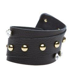 genuine-leather cuff bracelet