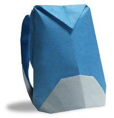 Origami Rucksack great directions