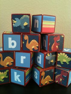 Dinosaur Building Blocks