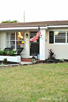 Exterior Reveal: DIY Curb Appeal on a budget