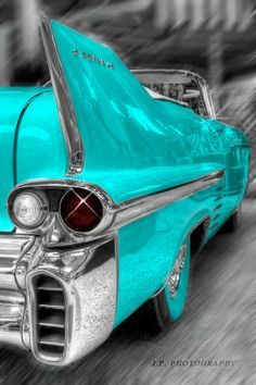 ^ Watch what you say, they'll be calling you a liberal, fanatical, criminal. Shades Of Turquoise, Aqua Blue, Shades Of Blue, Purple, Color Splash, Carros Vintage, Verde Tiffany, Himmelblau, Vintage Turquoise