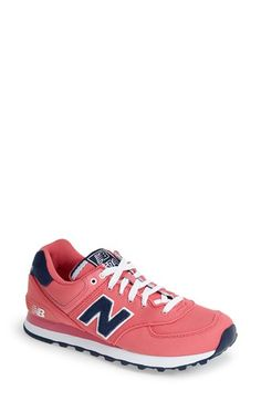 Free shipping and returns on New Balance '574' Sneaker (Women) at Nordstrom.com. Available in a rainbow of hues, this cool street sneaker combines retro design and smart, sporty detailing for a look that transcends time and trends.
