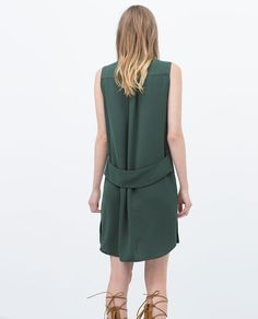 ZARA - NEW THIS WEEK - ZIP-UP DRESS