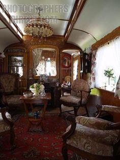 gypsy caravan interior pictures | Elegant example of Gypsy caravan interior | Vintage Trailer