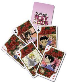 Ouran High School Host Club Playing Cards #ouranhighschoolhostclub