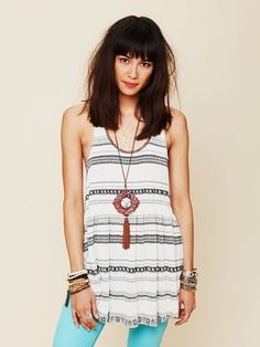 Free People Mr Golden Sun Tank at Free People Clothing Boutique