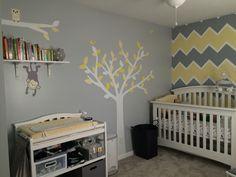 Left side of finished nursery