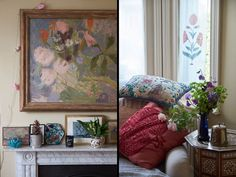 Dominic West's Cozy and Colorful London Home - Celebrity Home - Lonny